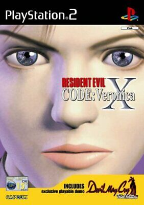 Resident Evil Code: Veronica X (PS2) - Game  4EVG The Cheap Fast Free Post