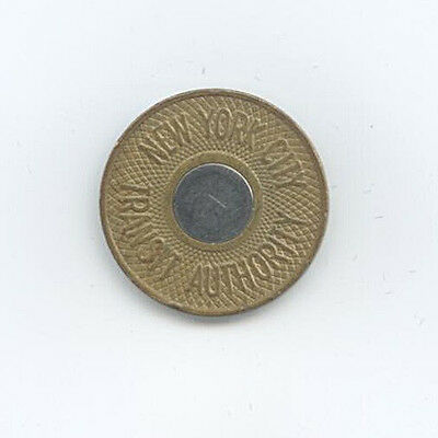Medaille New York City Transit Authority good for one fare Ø 22 mm 4 Gr. A8/203