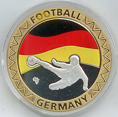 Medaille Football Germany Republiek Van Suid Afrika 2010 Ø 40 mm 26 Gr. B50/10