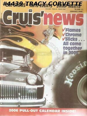 12 Issues 2006 Cruis'news Woodward Dream Cruise Small / Big Blocks Jimmy Addison
