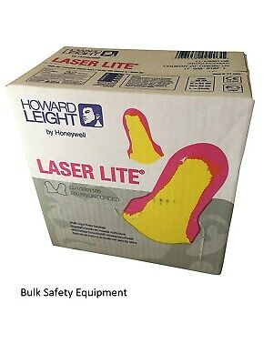 LL-1 Honeywell  Howard Leight Laser Lite Earplugs 200 wrapped Uncorded pairs