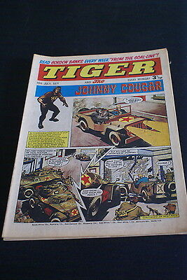 Tiger And Jag  Vintage Comic 10 of July 1971