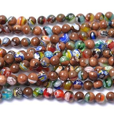 Lot Natural Gemstone Round Spacer Loose Beads 6MM 8MM 10MM 12MM