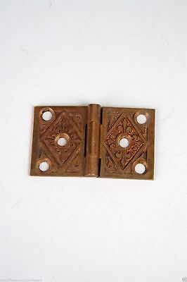 "Antique Victorian Shutter Hinges 1-3/8"" X 2-3/8"" W Cast Bronze AH04191504"