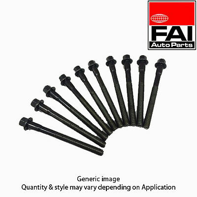 To Clear - New Fai Cylinder Head Bolt Kit (Box Of 10) B986