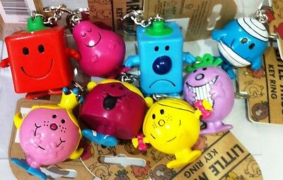 Mr Men and Little Miss 3D Keyrings - Choose Your Character