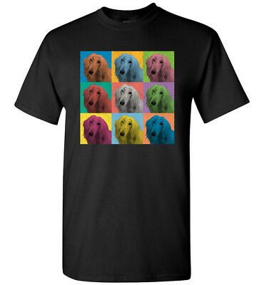 Afghan Hound Vintage-Style Pop-Art T-Shirt Tee, Men Women Youth Tank Long Sleeve