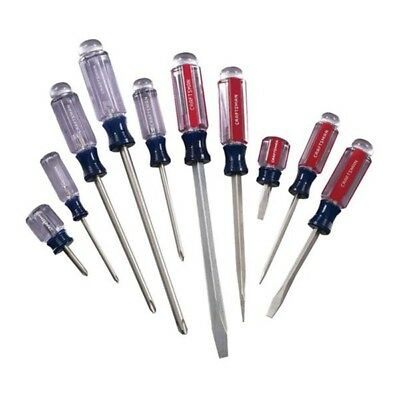 9-1172 10 Piece Screwdriver Set - Model .: 9-1172    Includes: (5) Slotted screw