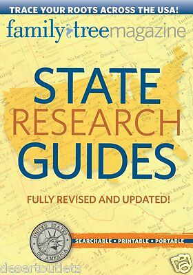 Family Tree Magazine State Research Guides - Revised & Updated - 2nd Edition CD
