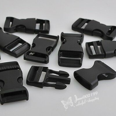 E302 10/20/100pc Plastic Backpack Safety Buckle Luggage Buckle Accessories 50mm