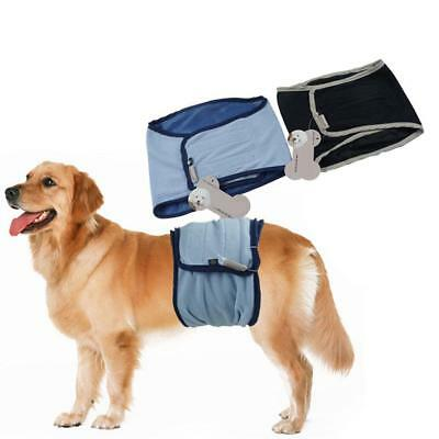 Male Dog Belly Band Toilet Training Diaper Puppy Sanitary Pants Underwear XS--XL