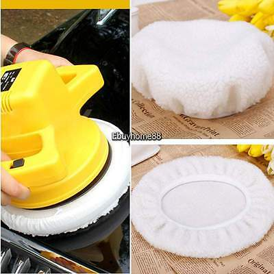 "9""-10"" Inch Bonnet Polisher Polish Pad Polishing Buffing Car Buffer Waxer 4Pcs"