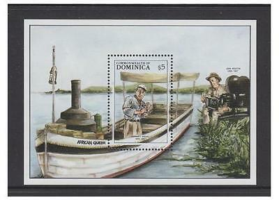 Dominica - 1988 Entertainers sheet - MNH - SG MS1162a