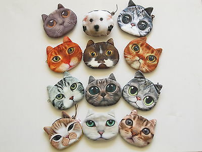 Purses-Children`s-Coin-Cat-Dog