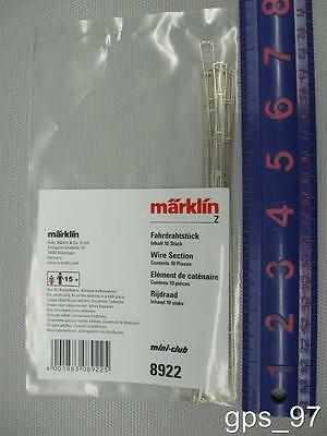 Z - Marklin 8922 Catenary Wire 165mm (Pack of 10) - New