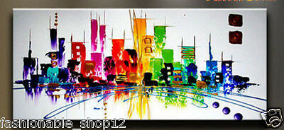 Huge Modern Abstract hand-painted Art Oil Painting Wall Decor canvas (no framed)