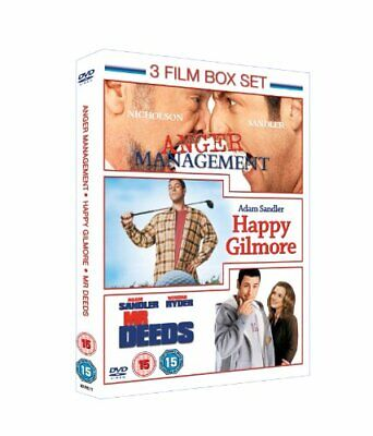 Anger Management/Mr Deeds/Happy Gilmore [DVD] - DVD  8SVG The Cheap Fast Free