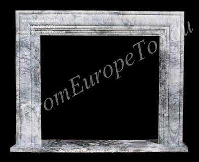Hand Carved Marble Classical Fireplace Mantel Tle27