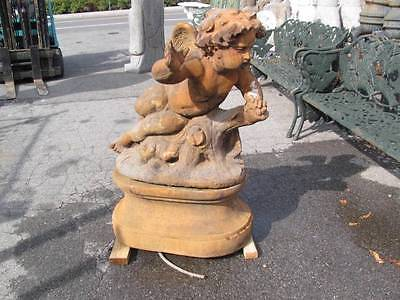 Beautiful Cherub Whimsical European Stone Fountains -Lv1404