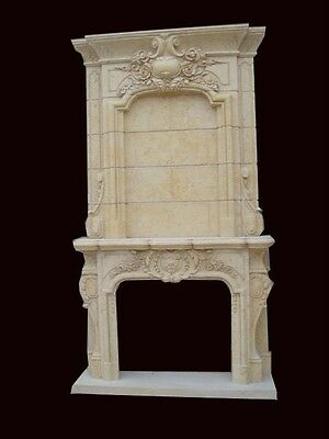 Hand Carved Marble Victorian Fireplace Mantel Fpm6