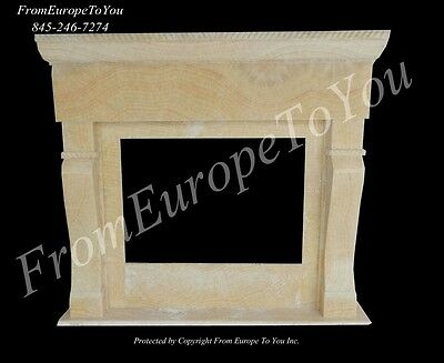 Beautiful Hand Carved Onyx Fireplace Mantel