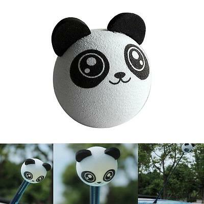 Cute Kungfu Panda Aerial Ball Car Antenna Topper Truck SUV Decor Balls Gift Toy