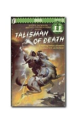 Talisman Of Death, Steve Jackson And ian Livingstone Book The Cheap Fast Free