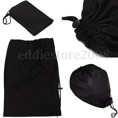 Motorcycle Helmet Bag BIKE IT Drawstring Helmet Bag Black Helmet Bag 47.5x 33cm