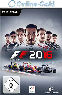 F1 2016 - Steam Download Code - PC Standard Version Formel 1 16 Neu [PC][DE][EU]