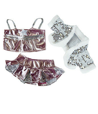 Shimmer Dance party outfit teddy clothes fit 14-18in 40cm Build a Bear