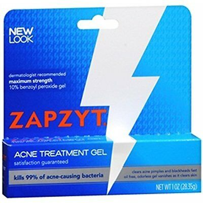 Zapzyt Acne Treatment Gel Maximum Strength 1 oz (28.35g)