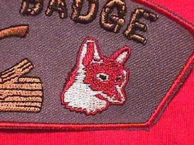 FOX Wood Badge Patch Beads Cub Boy Scouts Scout CSP