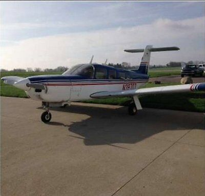 1978 Piper Turbo Lance Single Engine Plane