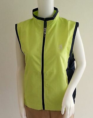 LPGA Damen Golf Weste Windbreaker Shirt Grösse 12, 14, 16 S M L XL C-7-8