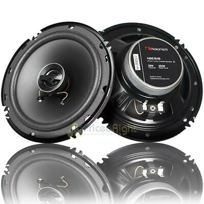 "NAKAMICHI NSE66 6/"" 380W MAX 2-WAY COAXIAL CAR STEREO SPEAKERS NEW IN BOX"