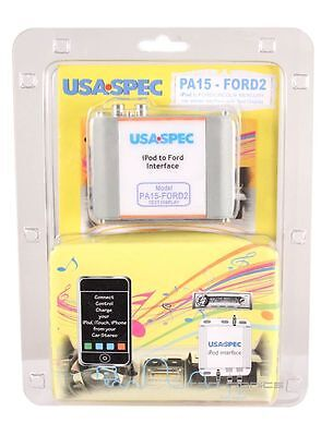 Usa Spec Pa15-Ford2 Car Audio Ipod Iphone Adapter For Ford Lincoln Mercury Cars