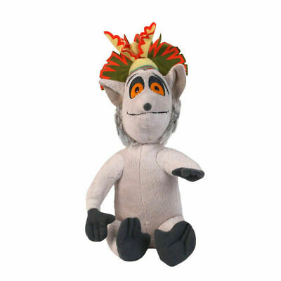 "The Penguins of Madagascar King Julien Plush Soft Toy 12"" Doll Cute Great Gift"