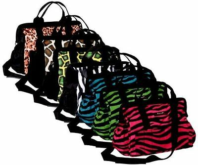Tough 1 zebra print Show Case Fun bag groom tote horse tack equine 72-7965-600