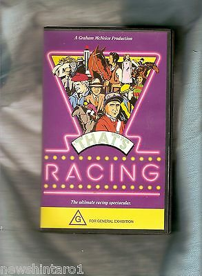 #zz. 1992 Horse Racing  Vhs Video Tape