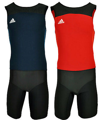 Adidas adipower Powerweb Leichtathletik Sprintanzug Weightlifting Suit XS S M