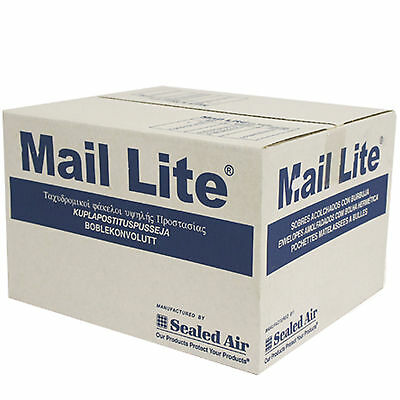Mail Lite / Lites Padded Envelope Bags Postal Bags Peel & Seal - White A-K Sizes