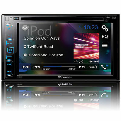 "Pioneer AVH-290BT 2-DIN Bluetooth In-Dash DVD Receiver 6.2"" Touchscreen Display"
