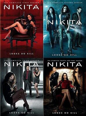 Nikita ~ Complete TV Series Season 1-4 (1 2 3 & 4) ~ NEW 16-DISC BUNDLE DVD SET