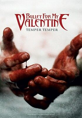 """Bullet For My Valentine Temper Temper Fabric Poster 30"""" X 40"""" !"""