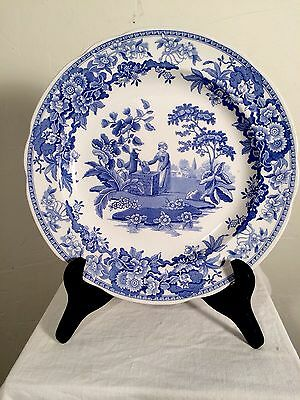"SPODE BLUE ROOM COLLECTION  10 1/4"" Girl at Well"