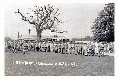 mm986 - Duke of Connaught in New Zealand - photo 6x4