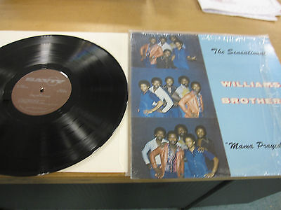 The Sensational Williams Brothers-Mama prayed for me Vinyl