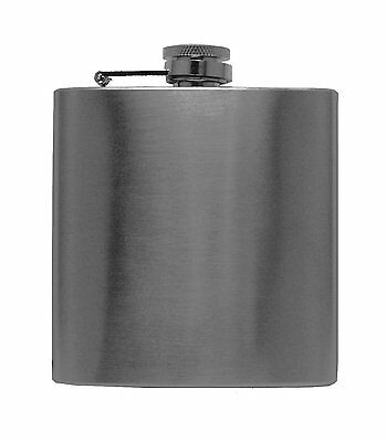 1pc BLEMISHED 6OZ FLASK FOR SALE - Stainless Steel Liquor Drink Hip Screw Cap