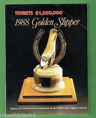 #jj.   Horse Racing Program -  1988 Golden Slipper