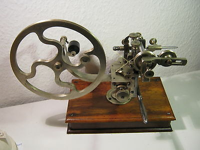 Antique Topping Tool, Gear Wheel Cutting Machine, Jeweler's Lathe - Circa 1860